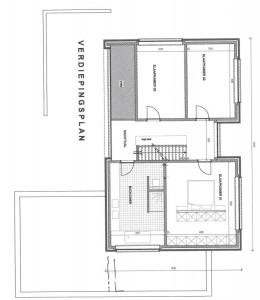 Voorontwerp architect bovenverdieping