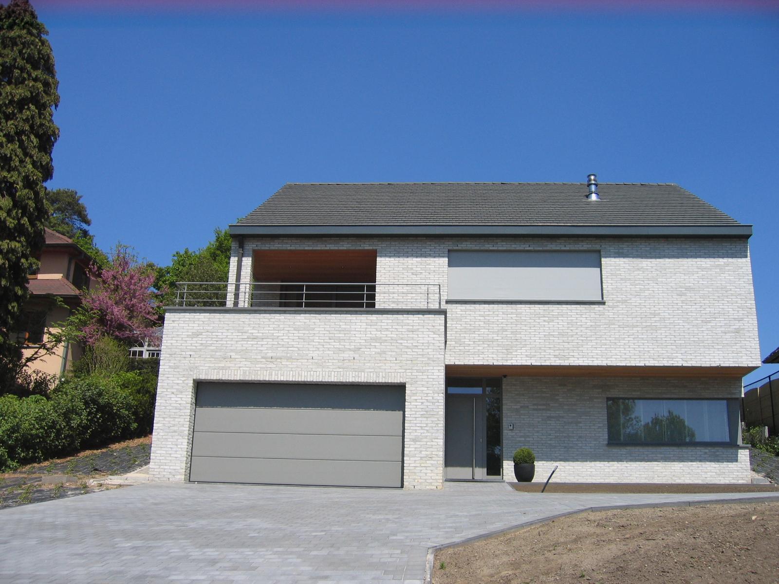 Wapper zilver grijs de saegher huis bouwen online huis bouwblog for Afbeelding van moderne huizen