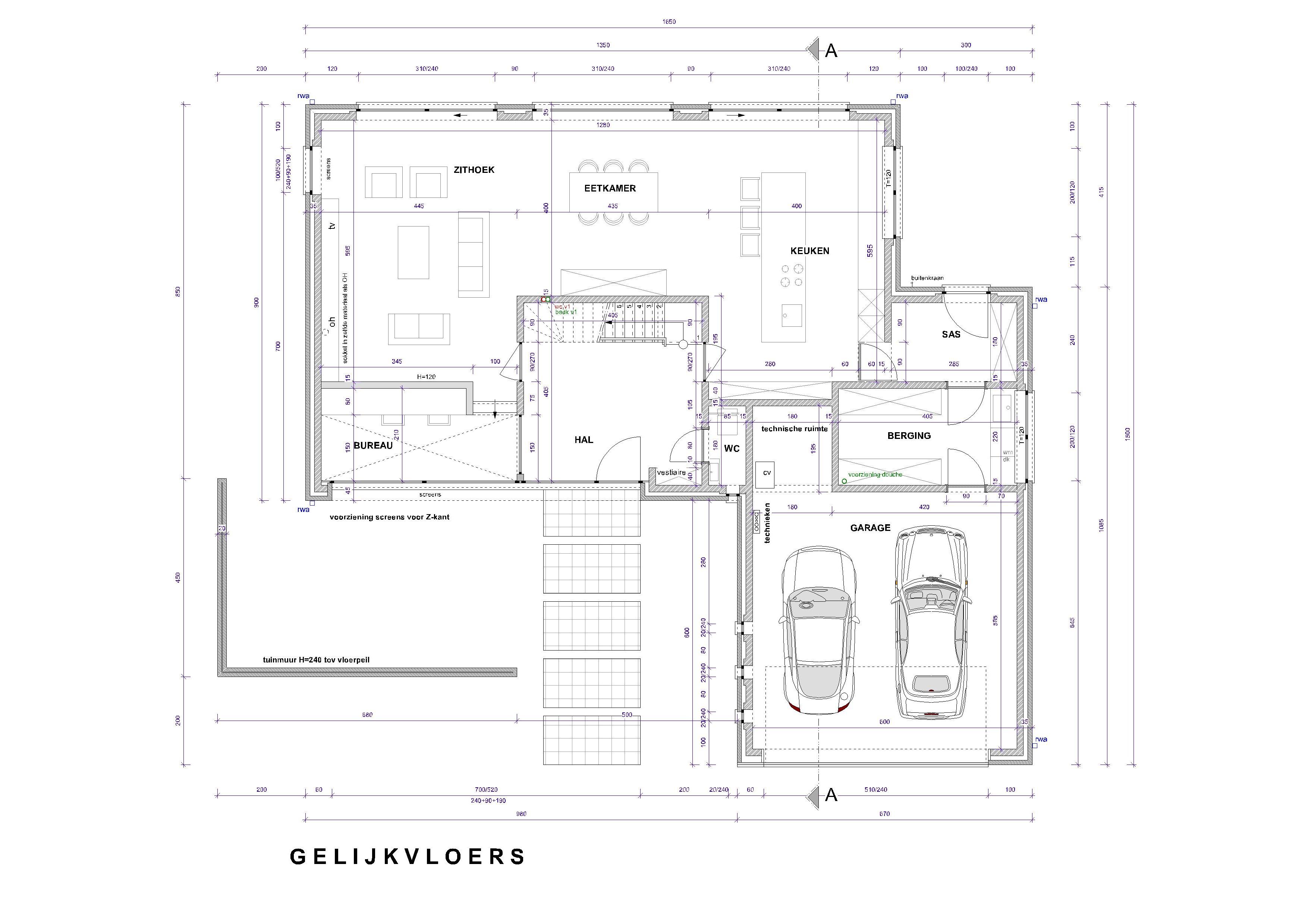 huis bouwen online huis bouwblog On plan van een modern restaurant